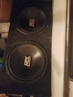 """MTX 12"""" subwoofers in box for Sale in Hacienda Heights, CA"""
