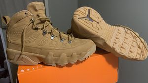 Men's Jordan 9 Retro NRG Boot size 10.5 BRAND NEW-SAVE $60 OFF RETAIL for Sale in Mundelein, IL