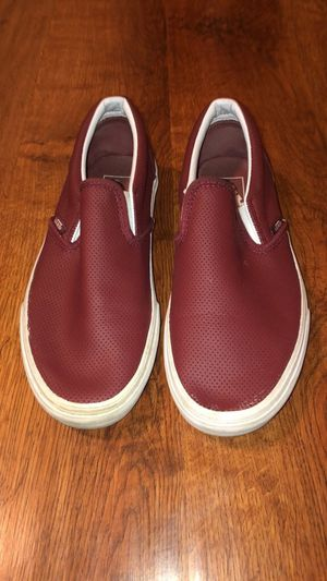 Burgundy Vans Slip Ons for Sale in Ashland, OR