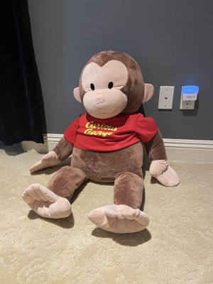 Huge Curious George Stuffed Animal- 3ft tall for Sale in San Diego, CA