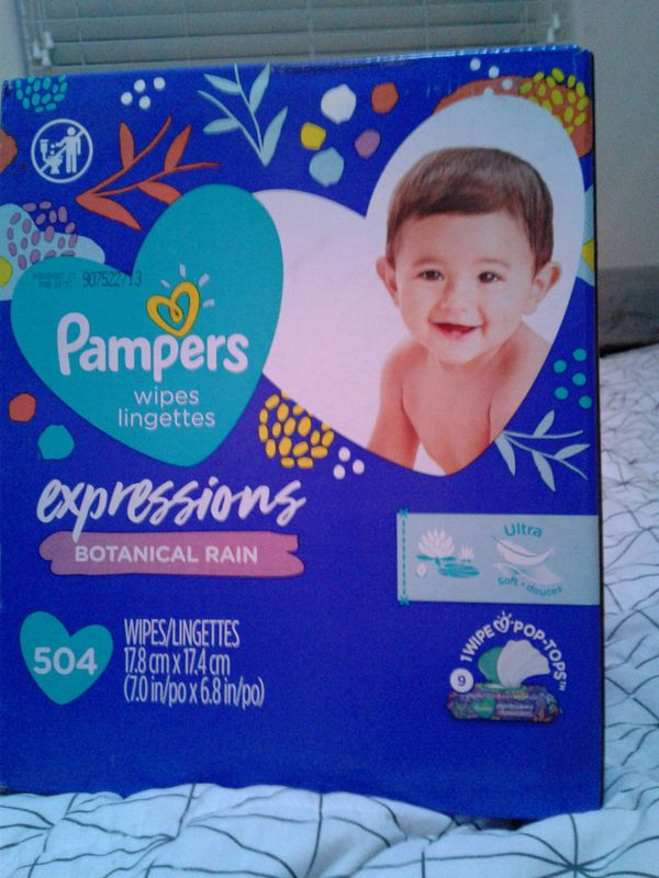 Pampers diapers 120 diapers 508 Pampers wipes direct shampoo and body wash