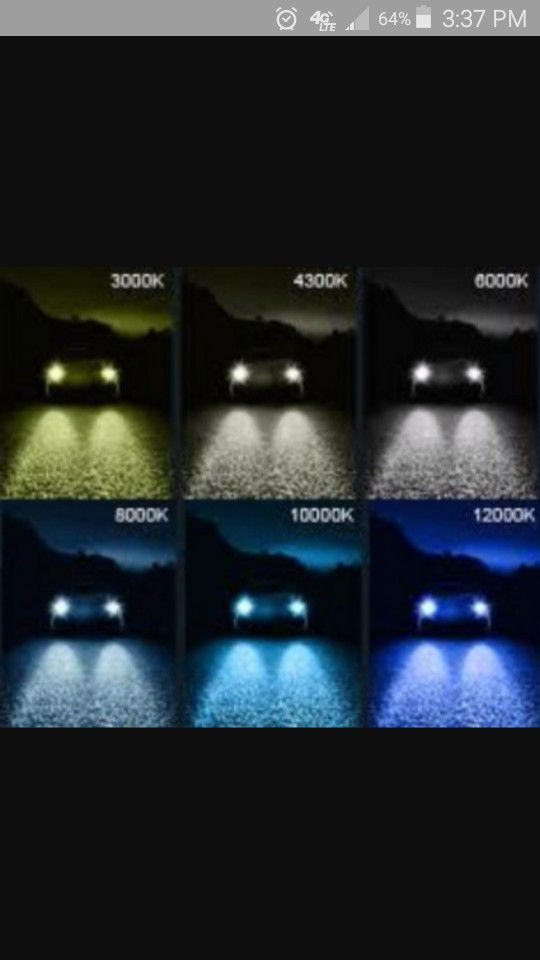 HID lights for altima but have for other cars