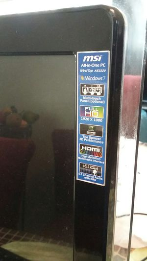 """MSi 22"""" touch screen for Sale in Denver, CO"""