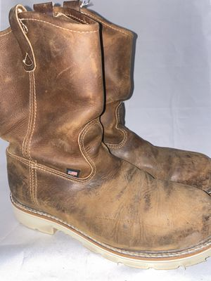 Men preowned Thorogood steel toe boot size 10.5ee for Sale in Chula Vista, CA