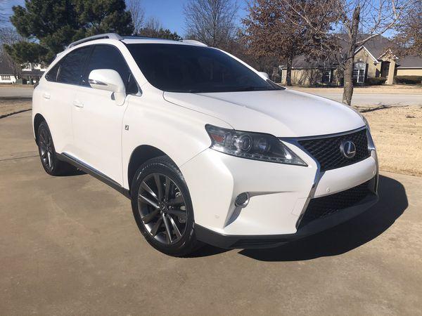 2013 Lexus Rx350 f sport white