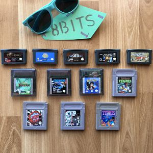 Nintendo Game Boy Regular, Advanced, And Color Game Lot for Sale in Vashon, WA