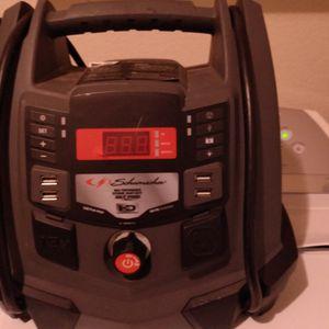 Schumacher Portable Power Station Compressor for Sale in Round Rock, TX
