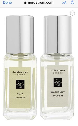 Jo Malone 2 deluxe travel size perfume. $30 firm for Sale in Anaheim, CA