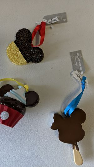 Disney treats ornament new 25$ for all 3 for Sale in Downey, CA