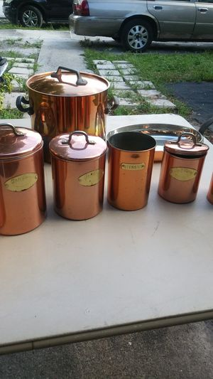 3 Pcs Pot Set & Storage Containers for Sale in Pompano Beach, FL