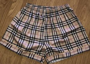 Burberry print silk shorts M for Sale in Pasadena, CA