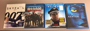 Lot of 4 blu-Ray DVD movies. All for $20 for Sale in Concord, NC