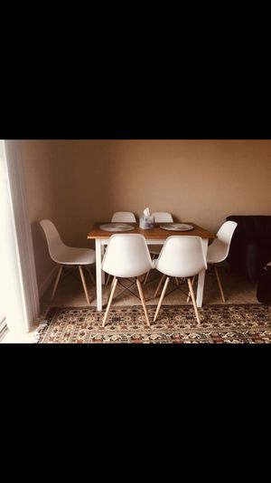 New Dining table with 6 chairs $300 for Sale in Leesburg, VA