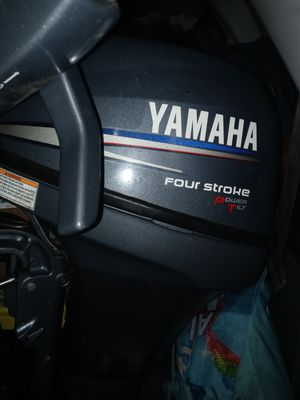 Yamaha 9.9hp long shaft 4 stroke with power tilt for Sale in Federal Way, WA