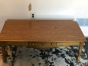 Solid oak coffee table EXCELLENT condition for Sale for sale  Monroe Township, NJ