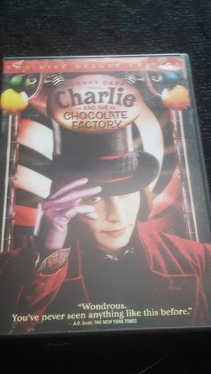 Charlie and the Chocolate Factory DVD for Sale in Austin, TX