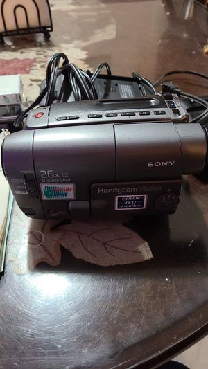Sony video camera model vI6A for Sale in Prospect Heights, IL