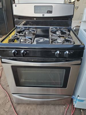 Stove is gas stainless steel for Sale in Tolleson, AZ