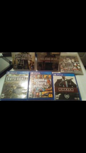 Ps4 and ps3 games looking to trade for ps4 games for Sale in Rialto, CA