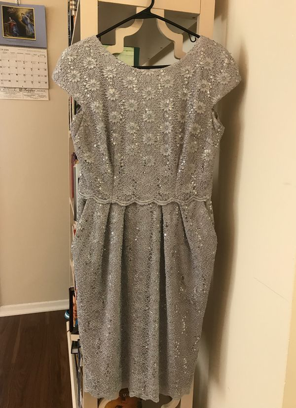 Silver Nordstrom dress size 6