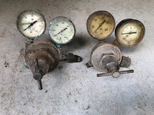 (6) Different Industrial Gauges/Valves Brass Regulators.. for Sale in Atlanta, GA