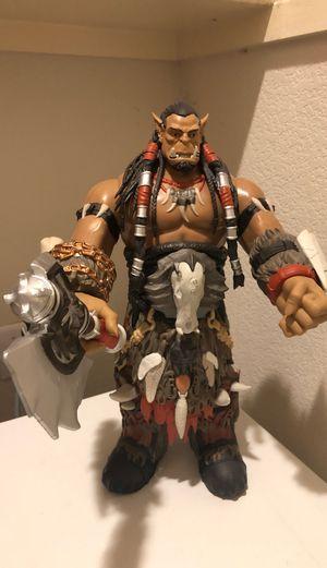 18 inch Warcraft Durotan Deluxe Blizzcon Figure for Sale in Austin, TX