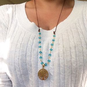 Necklace with stainless steel charm for Sale in Hialeah, FL