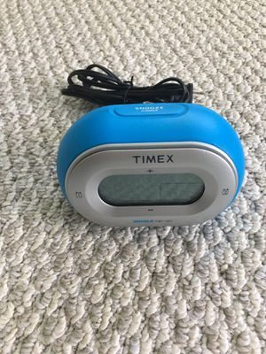 Timex dual alarm digital clock with alaram for Sale in Lewis Center, OH