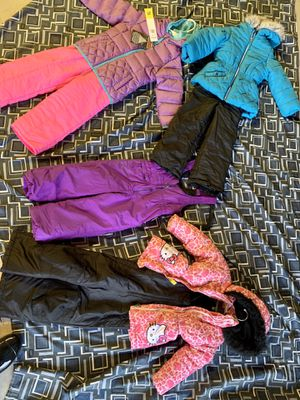 Snow boots, bibs snow suits and jackets for Sale in Surprise, AZ