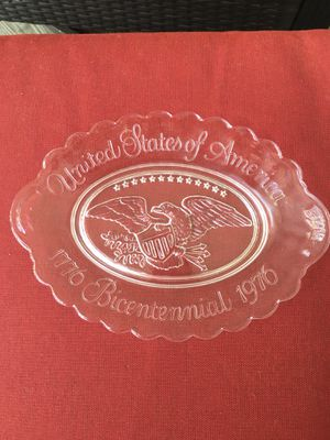 Vintage Collectible Bicentennial Glass Dish marked Avon for Sale in Atlanta, GA