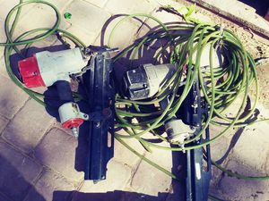 2 Air Tool Nail gun 1 Corded Saw (sale as is lot) for Sale in Las Vegas, NV