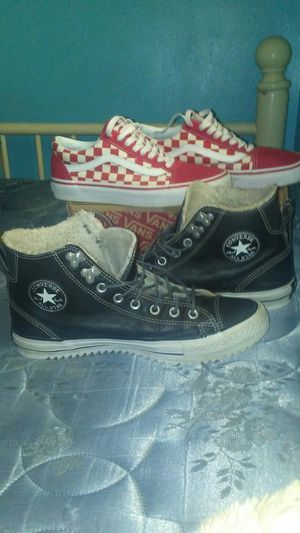 Vans and converse for Sale in Lexington, KY