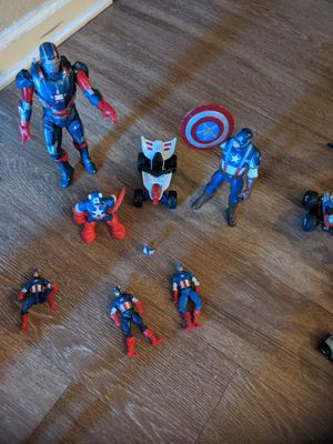 Captain america toys for Sale in Denver, CO