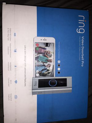 Ring video door bell pro $100 obo for Sale in Kissimmee, FL
