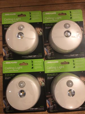 Mr Beams led ceiling light, 4 pack for Sale in Clearwater, FL