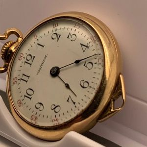 Vintage Waltham ladies 14k Solid gold,585 Solidarity pendant watch. Working perfectly. Great Christmas gift . for Sale in Paisley, FL