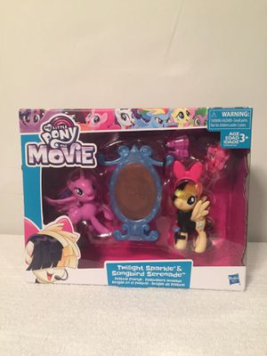 My Little Pony The Movie Twilight Sparkle & Songbird Serenade Toy for Sale in Miami, FL