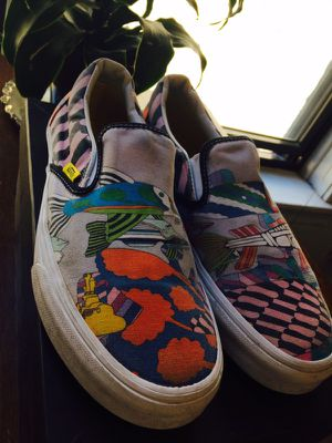 VANS - beetles yellow submarine slip one for Sale in Chicago, IL