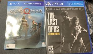 PS4 games 3 for Sale in Manteca, CA