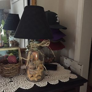 Jar lamp for Sale in Lockeford, CA