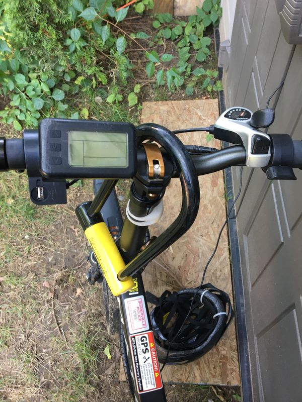 Mate S 350W pedal assist electric bicycle, folding