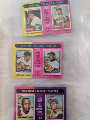 1970s RARE MVP baseball cards for Sale in Washington, DC
