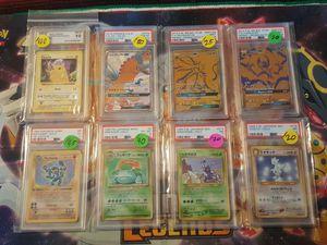 Pokemon Graded cards for Sale in Fresno, CA