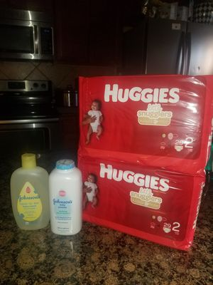Huggies Size 2 Bundle for Sale in Mansfield, TX