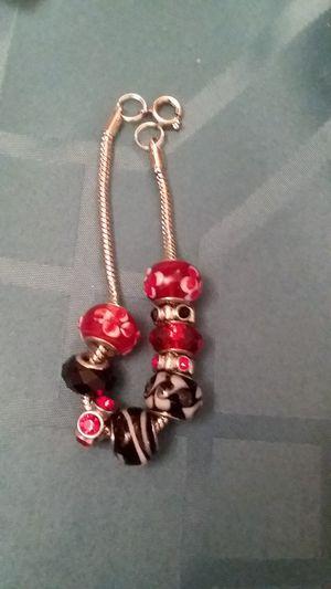 Red and black bracelet 7 + 1/2 for Sale in Midlothian, VA
