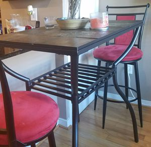 Pub Table Set with Bar Stools for Sale in Washington, DC