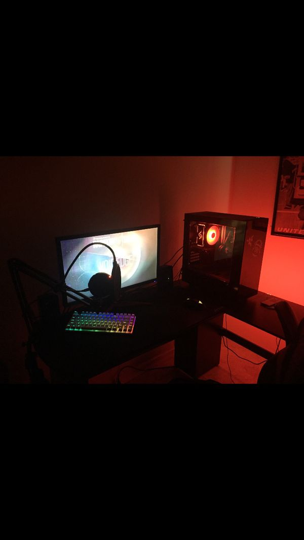 FULL GAMING SETUP (MONITOR not INCLUDED)
