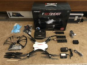 Force1 F100 Ghost brushless camera drone for Sale in Torrance, CA