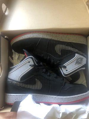 2013 Nike Air Jordan 1 Retro 89 Black/Varsity/Red-Cement 599874-003 Sz 5Y for Sale in Lynwood, CA