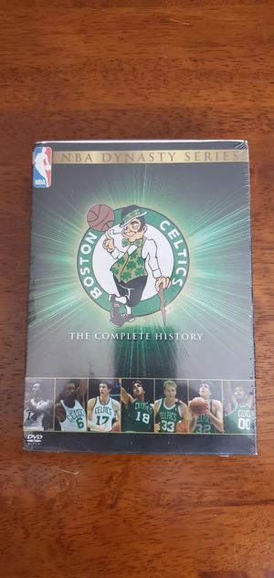 Boston Celtic complete history dvd for Sale in Austin, TX